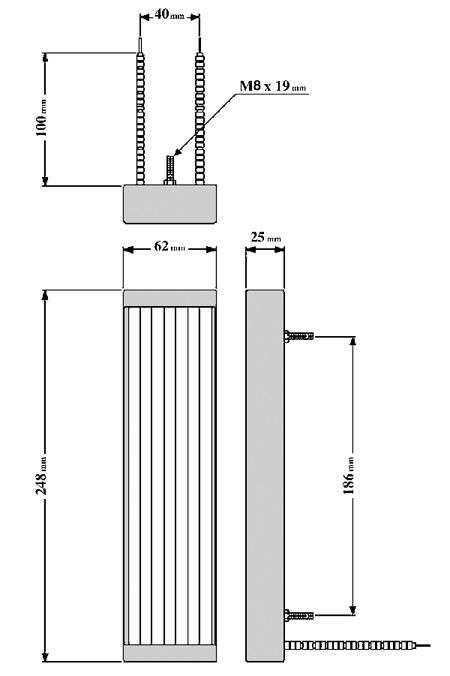 схема инфракрасного излучателя