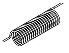 Проволочные нагреватели спиральные чертеж