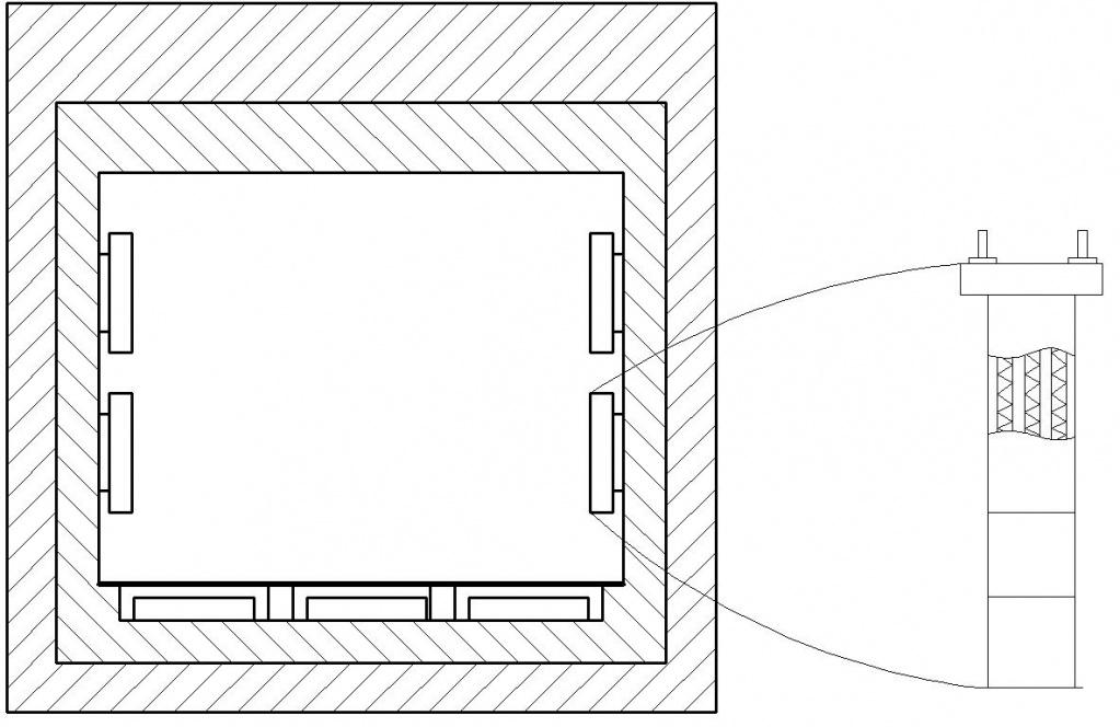 Схема размещения воздушных